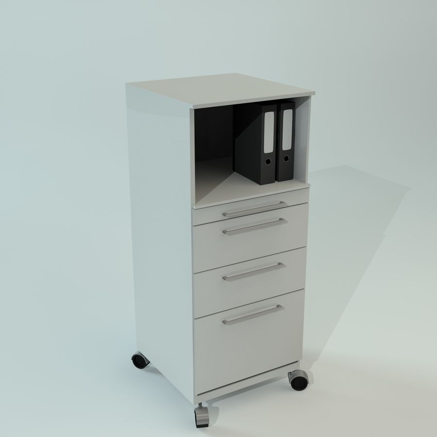 Office Furniture Collection royalty-free 3d model - Preview no. 9