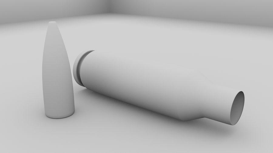 30毫米子弹 royalty-free 3d model - Preview no. 6