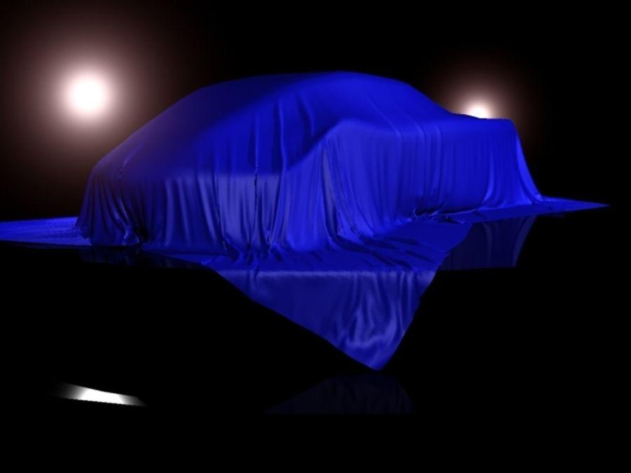 Car Veil royalty-free 3d model - Preview no. 1