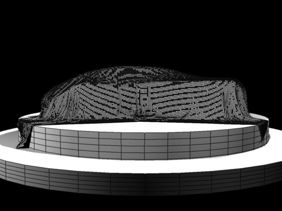 Car Veil royalty-free 3d model - Preview no. 4