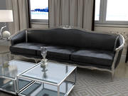 Boffi Leather Sofa 3d model