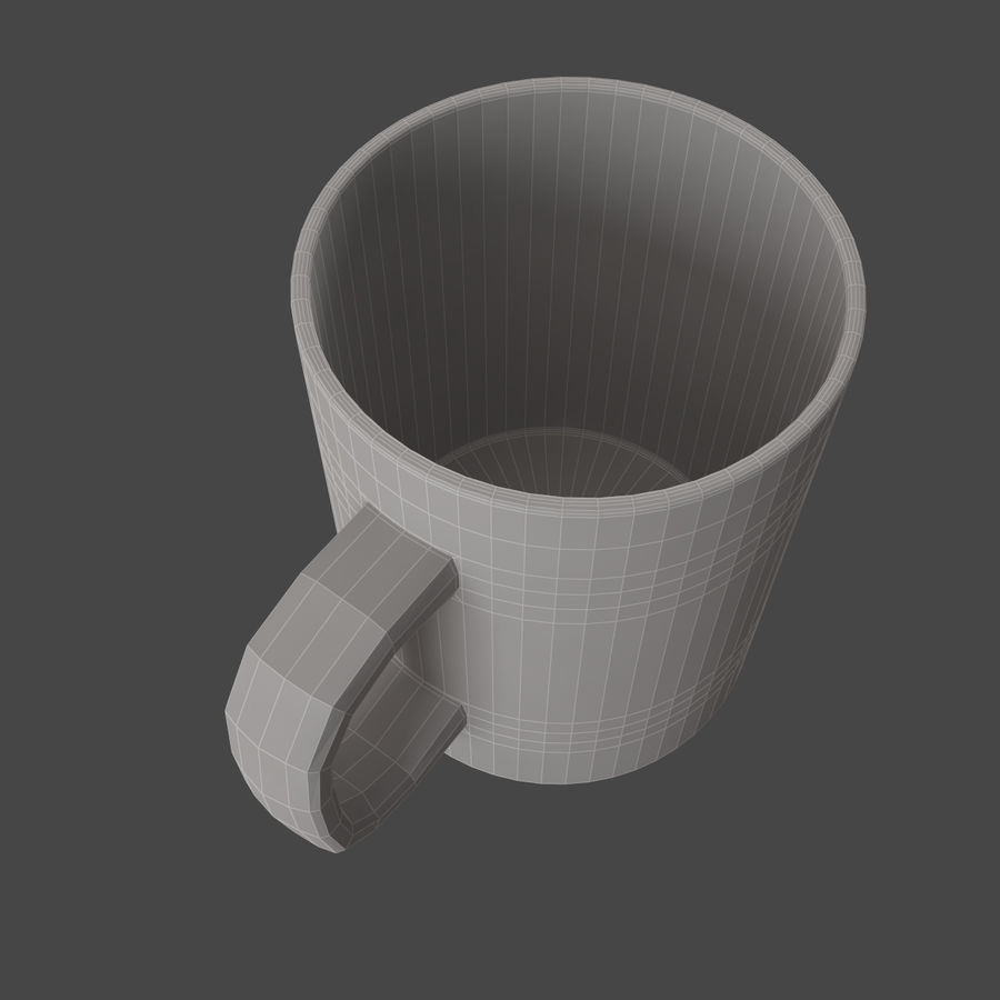 boccale royalty-free 3d model - Preview no. 5