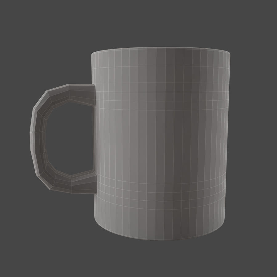 boccale royalty-free 3d model - Preview no. 6