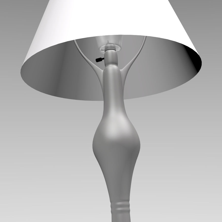 HQ Lamp royalty-free 3d model - Preview no. 2