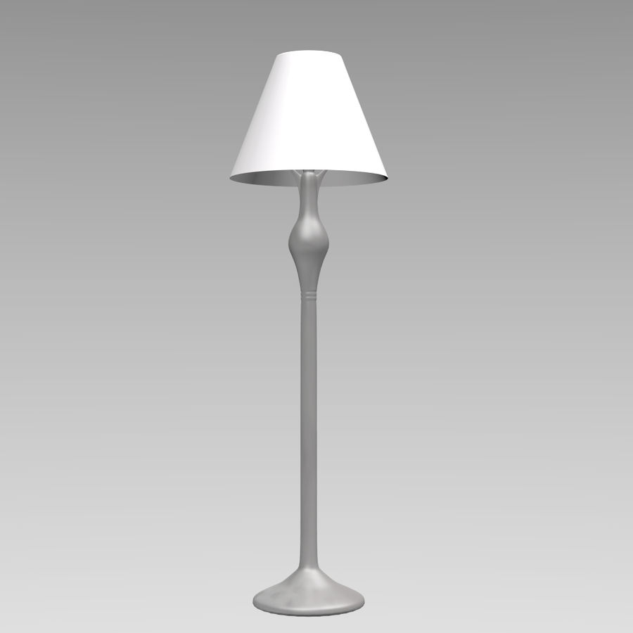 HQ Lamp royalty-free 3d model - Preview no. 1
