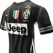 Juventus jersey 3d model