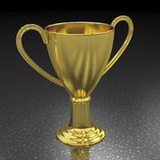 Coupe du trophée 3d model