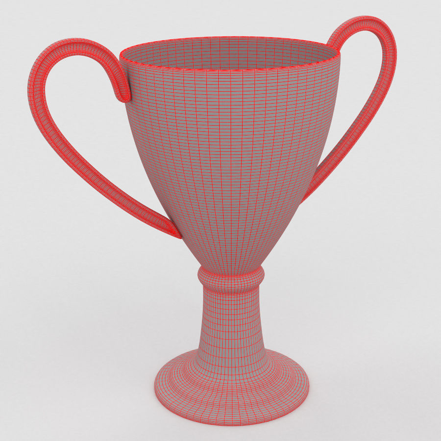 Trophy Cup royalty-free 3d model - Preview no. 5