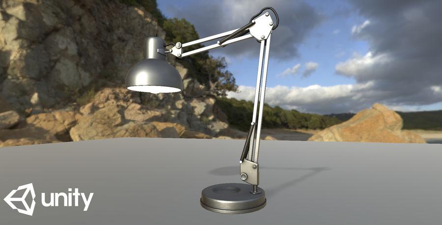 Настольная лампа 01 royalty-free 3d model - Preview no. 15