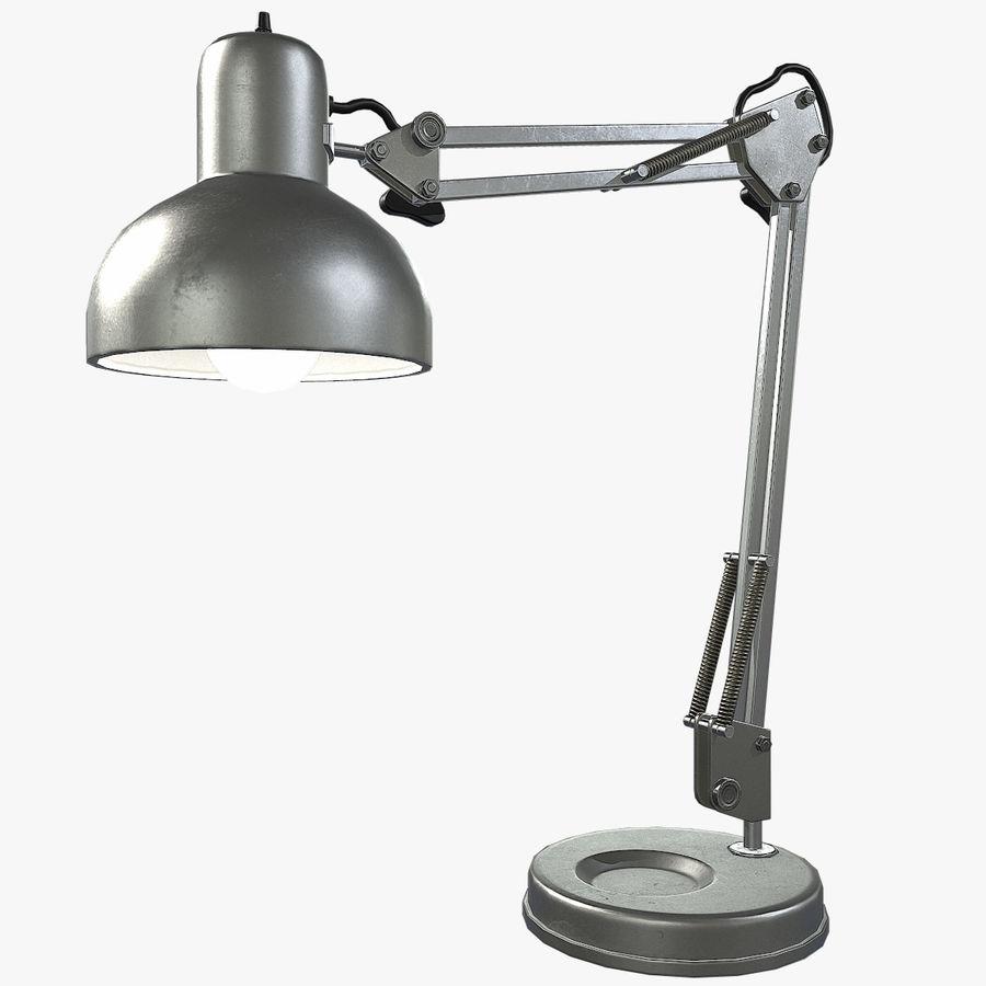 Настольная лампа 01 royalty-free 3d model - Preview no. 1
