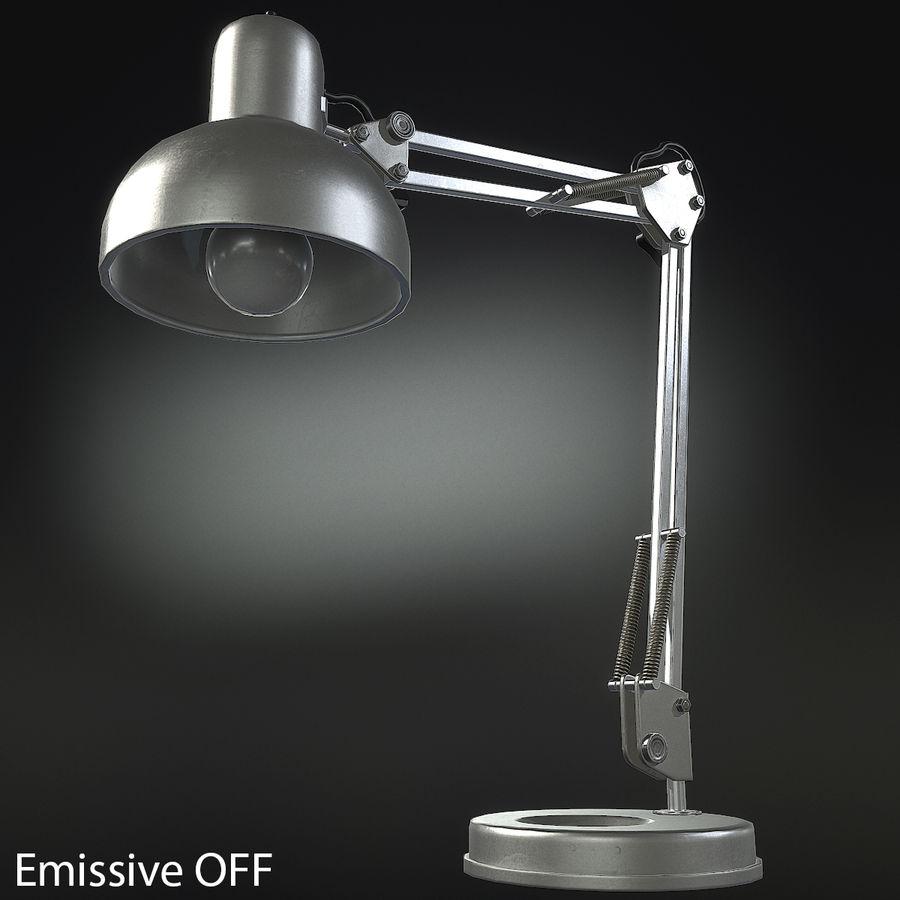 Настольная лампа 01 royalty-free 3d model - Preview no. 3