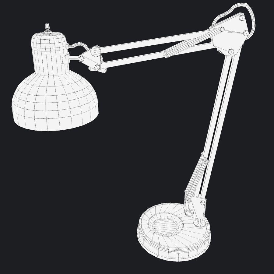 Настольная лампа 01 royalty-free 3d model - Preview no. 12
