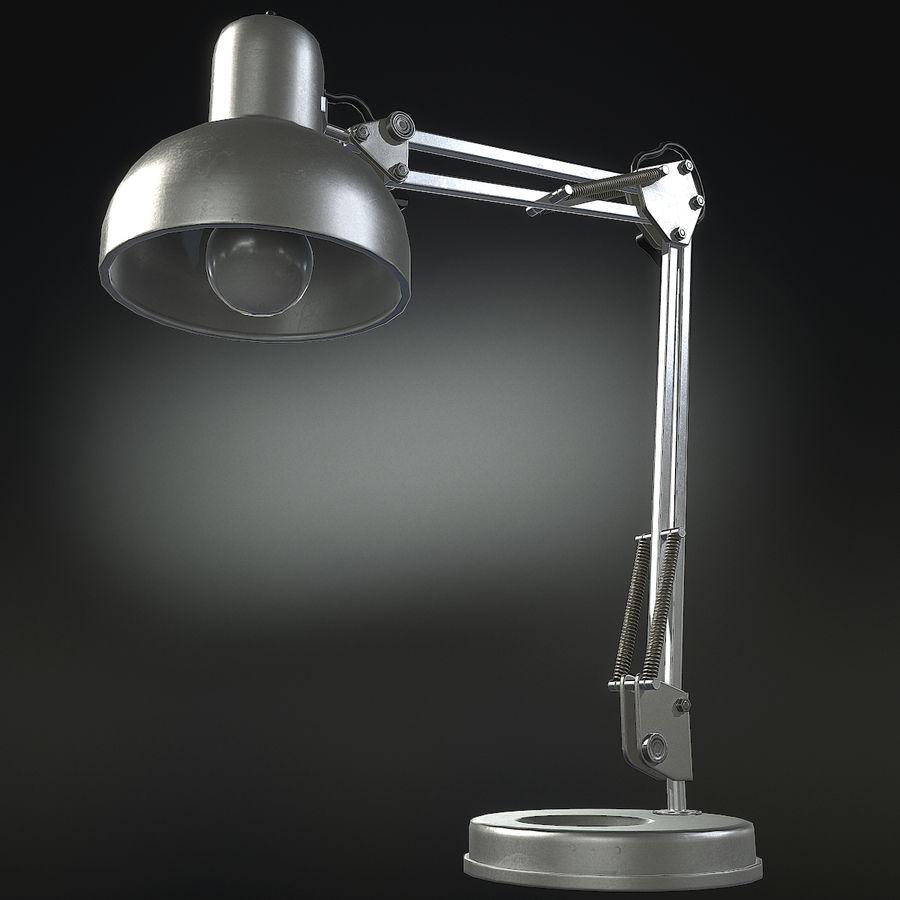 Настольная лампа 01 royalty-free 3d model - Preview no. 11