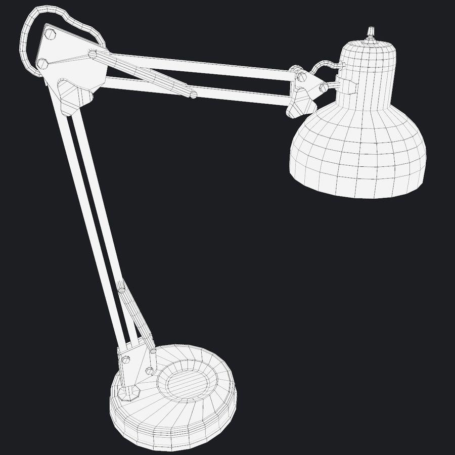 Настольная лампа 01 royalty-free 3d model - Preview no. 13
