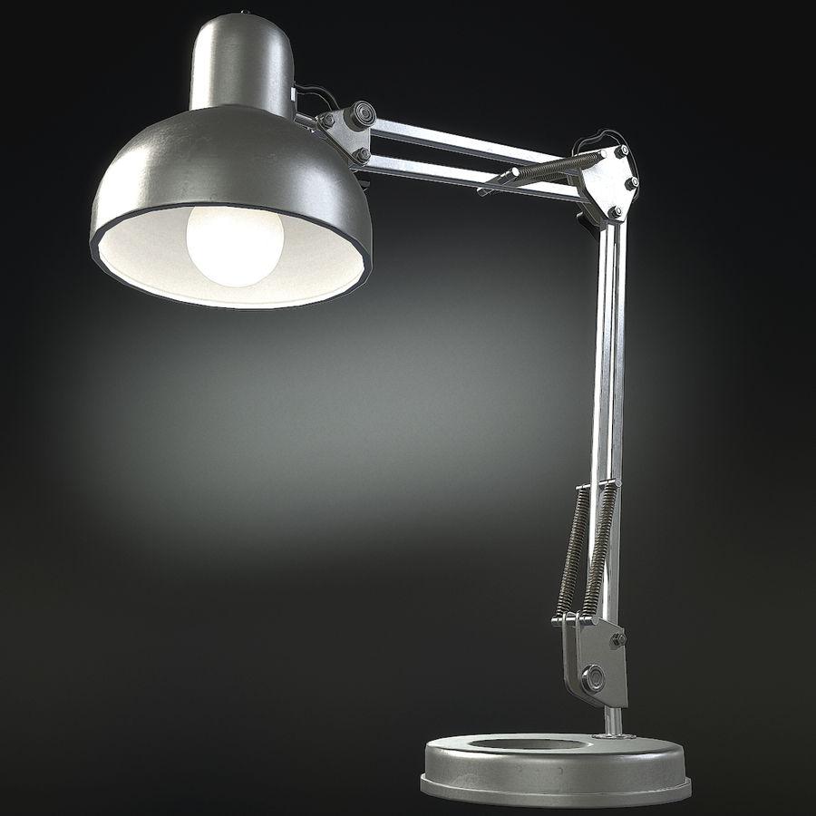 Настольная лампа 01 royalty-free 3d model - Preview no. 10