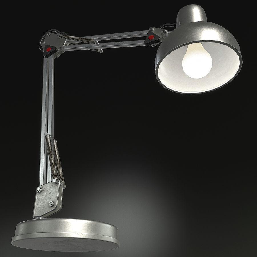 Настольная лампа 01 royalty-free 3d model - Preview no. 6