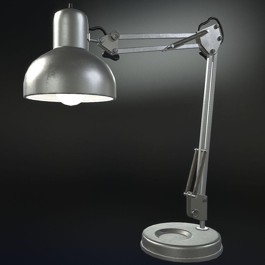 Настольная лампа 01 royalty-free 3d model - Preview no. 2