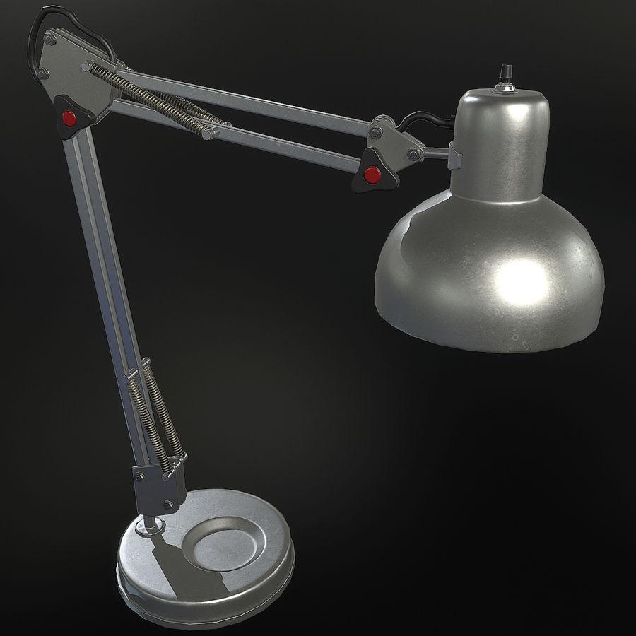 Настольная лампа 01 royalty-free 3d model - Preview no. 5