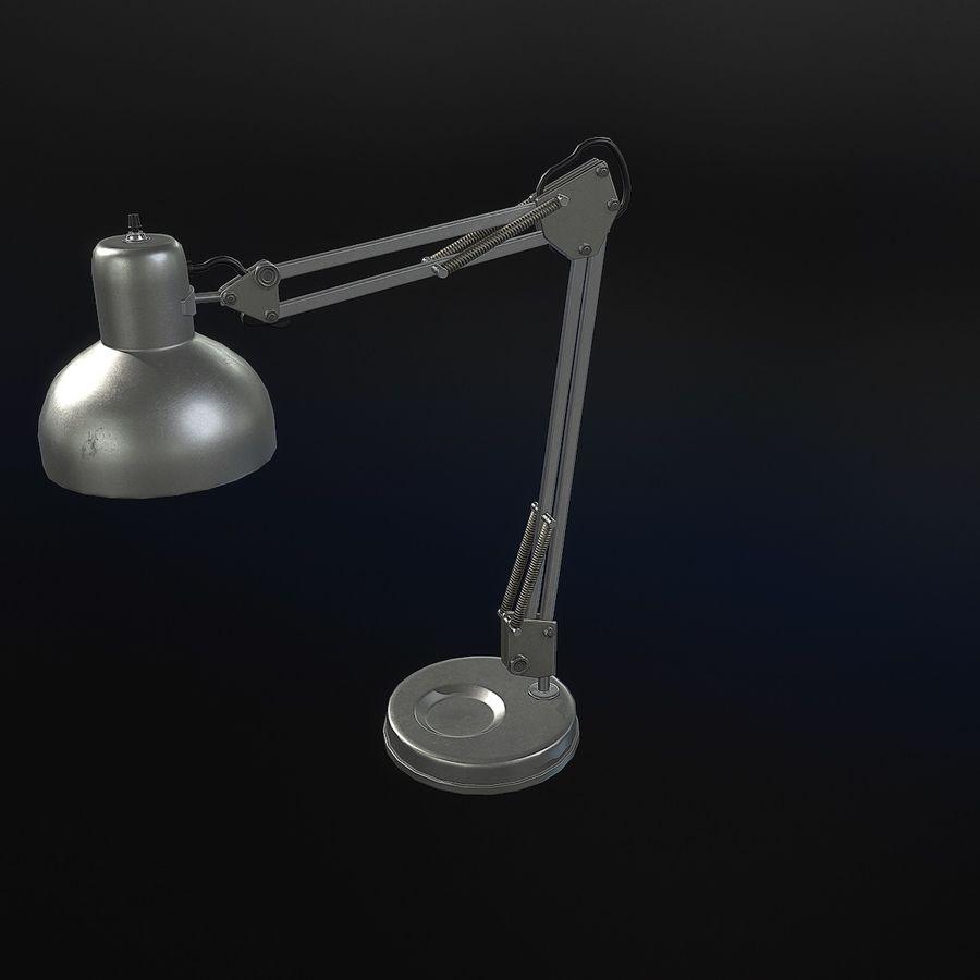 Настольная лампа 01 royalty-free 3d model - Preview no. 9