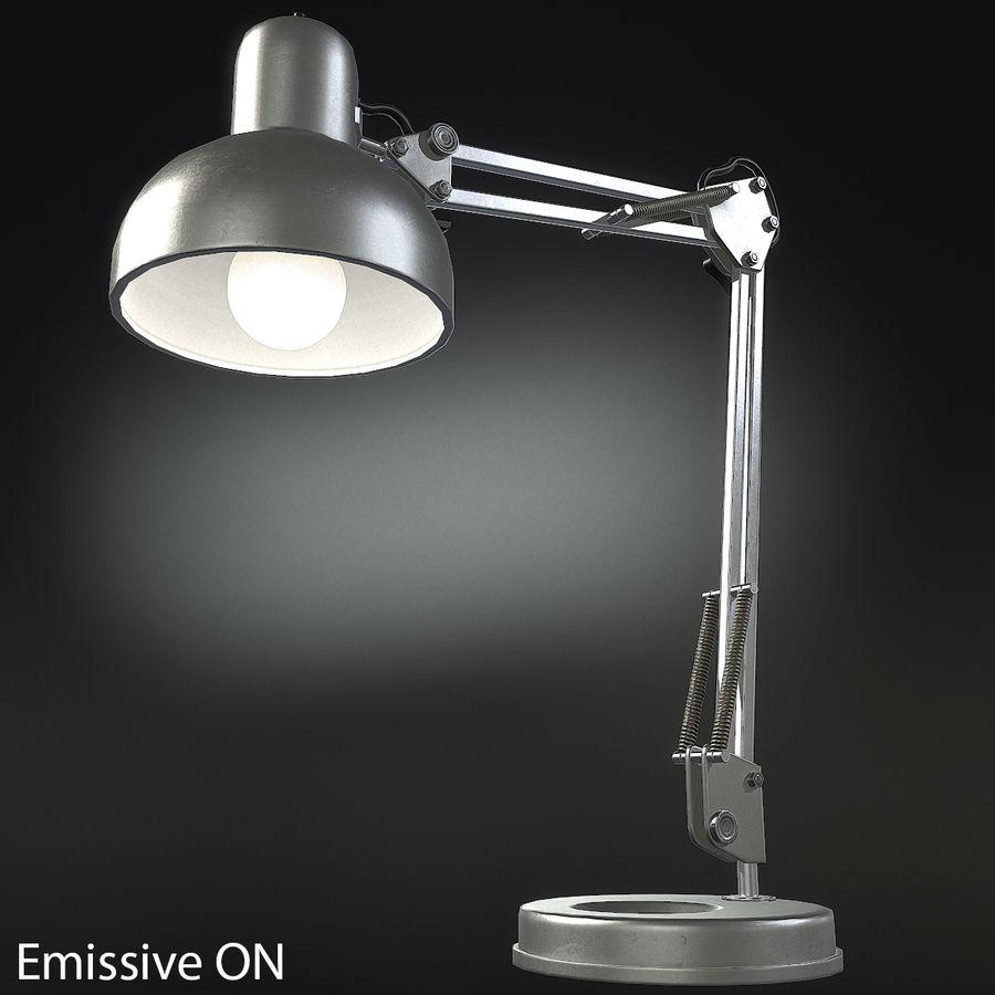 Настольная лампа 01 royalty-free 3d model - Preview no. 4