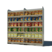 Crisps Display 3d model
