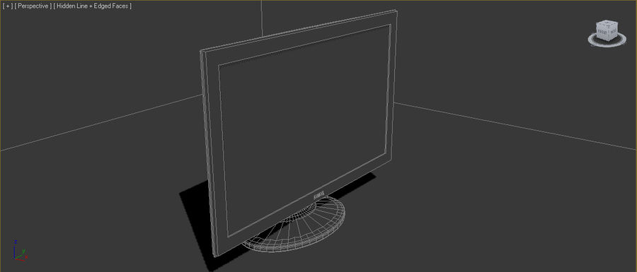 Computer screen royalty-free 3d model - Preview no. 8