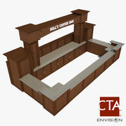 Coffee Bar 3d model