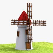 Cartoon Mill 1 3d model