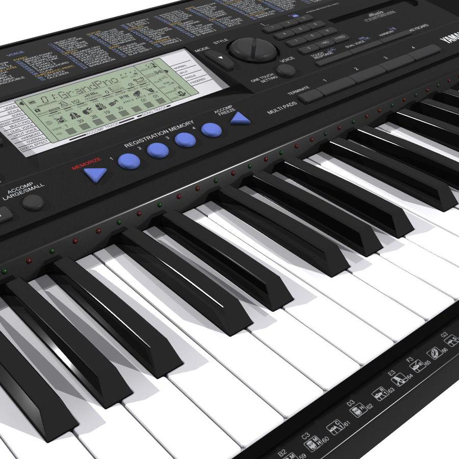 Клавиатура: Yamaha PSR 420: максимальный формат royalty-free 3d model - Preview no. 1