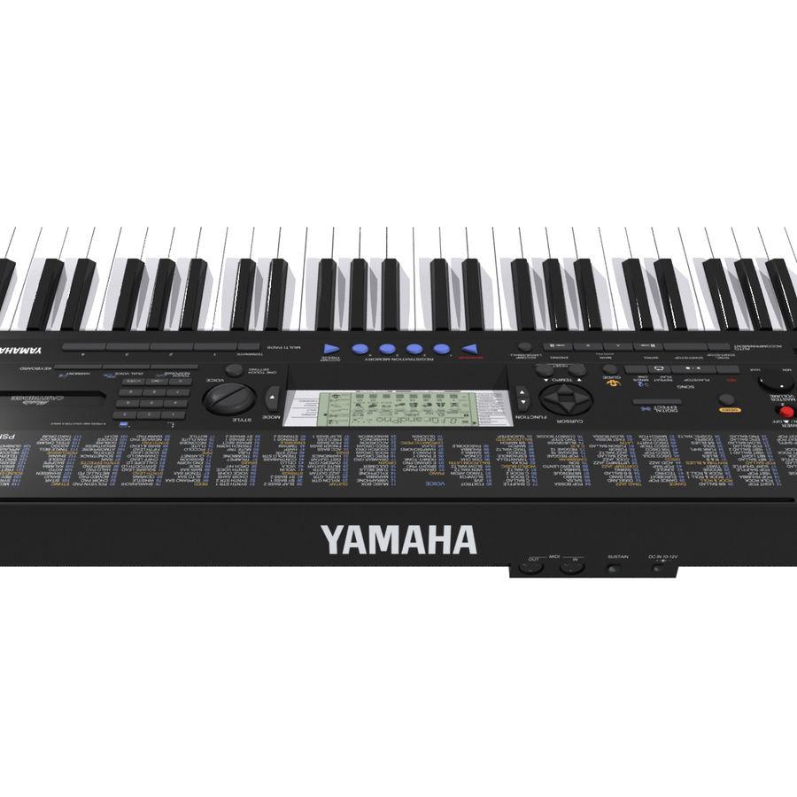 Клавиатура: Yamaha PSR 420: максимальный формат royalty-free 3d model - Preview no. 6