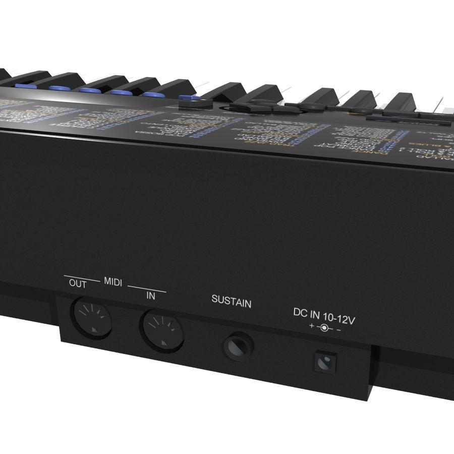 Клавиатура: Yamaha PSR 420: максимальный формат royalty-free 3d model - Preview no. 13