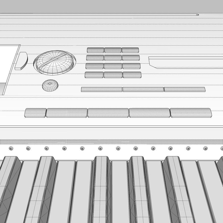 Клавиатура: Yamaha PSR 420: максимальный формат royalty-free 3d model - Preview no. 28