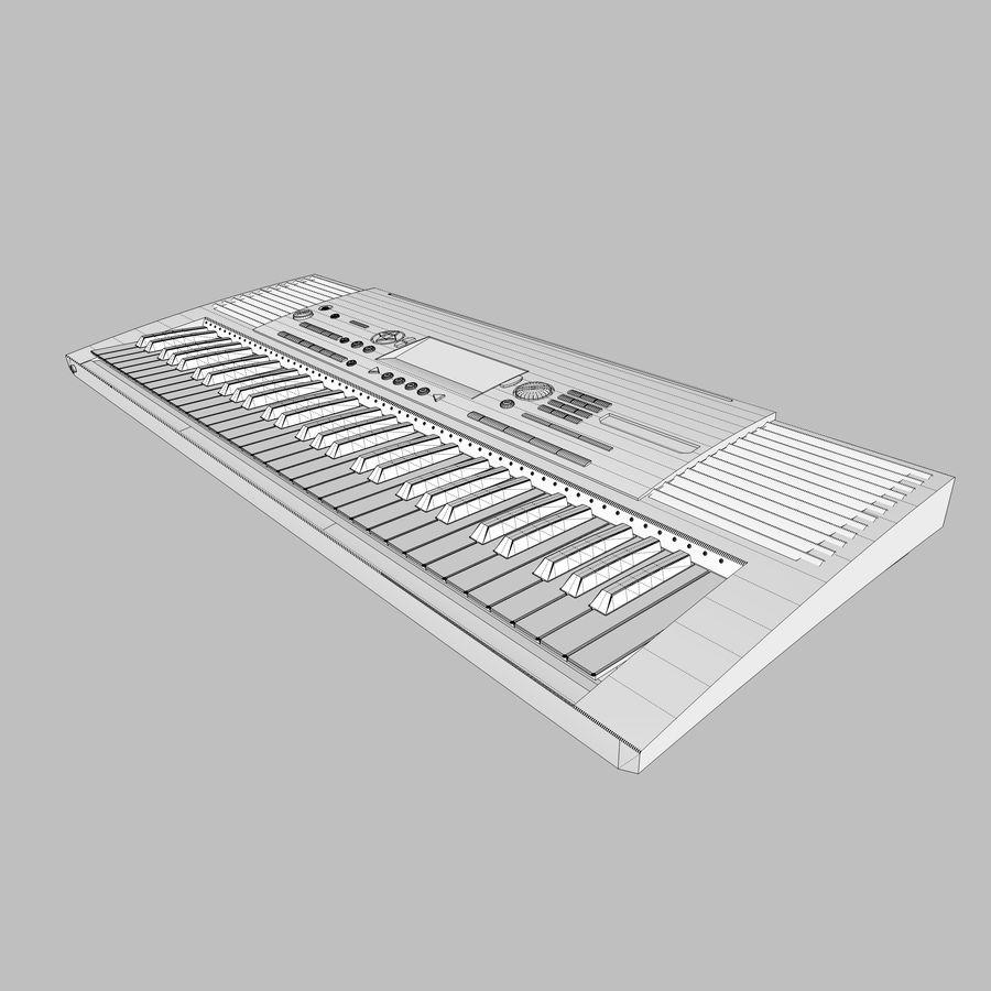 Клавиатура: Yamaha PSR 420: максимальный формат royalty-free 3d model - Preview no. 23