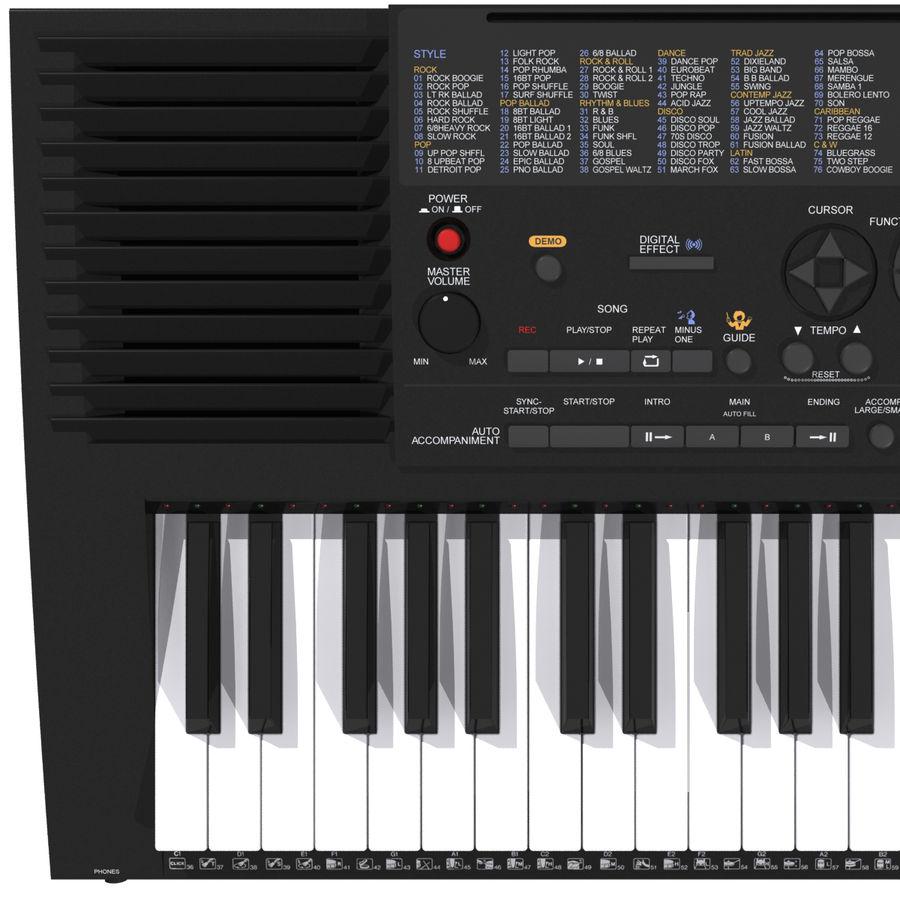 Клавиатура: Yamaha PSR 420: максимальный формат royalty-free 3d model - Preview no. 9