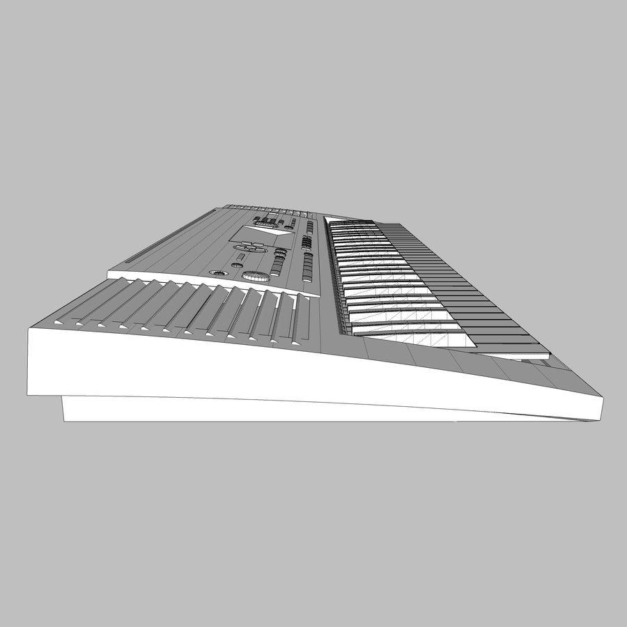 Клавиатура: Yamaha PSR 420: максимальный формат royalty-free 3d model - Preview no. 19