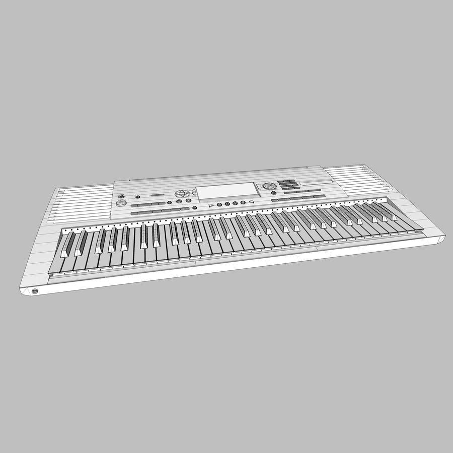 Клавиатура: Yamaha PSR 420: максимальный формат royalty-free 3d model - Preview no. 30