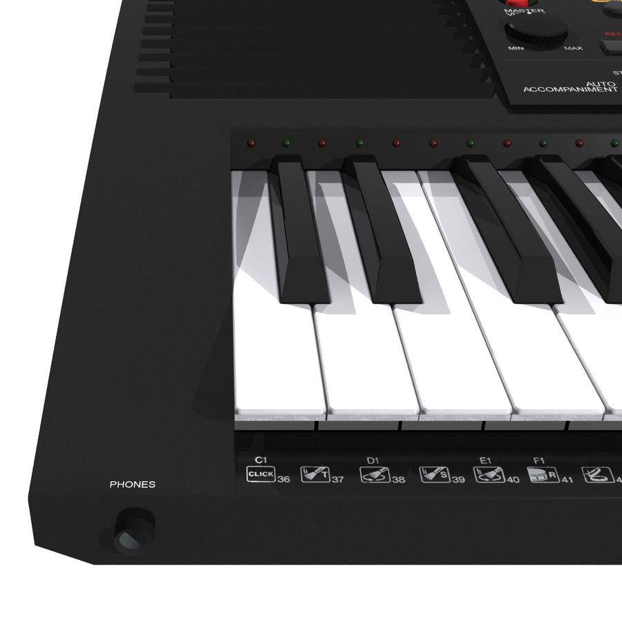 Клавиатура: Yamaha PSR 420: максимальный формат royalty-free 3d model - Preview no. 15