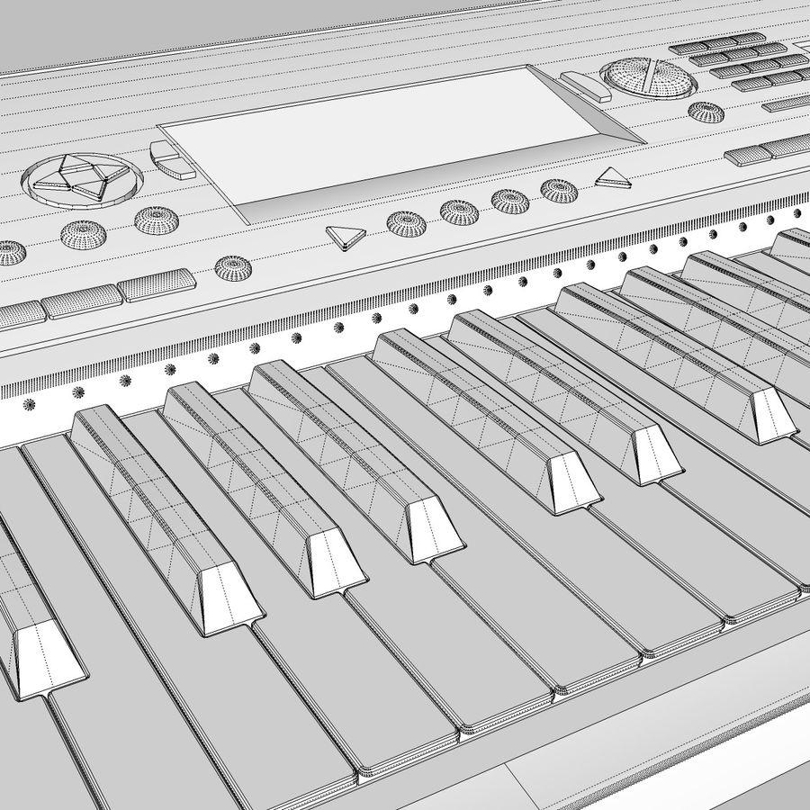 Клавиатура: Yamaha PSR 420: максимальный формат royalty-free 3d model - Preview no. 26