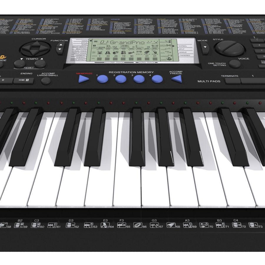 Клавиатура: Yamaha PSR 420: максимальный формат royalty-free 3d model - Preview no. 12