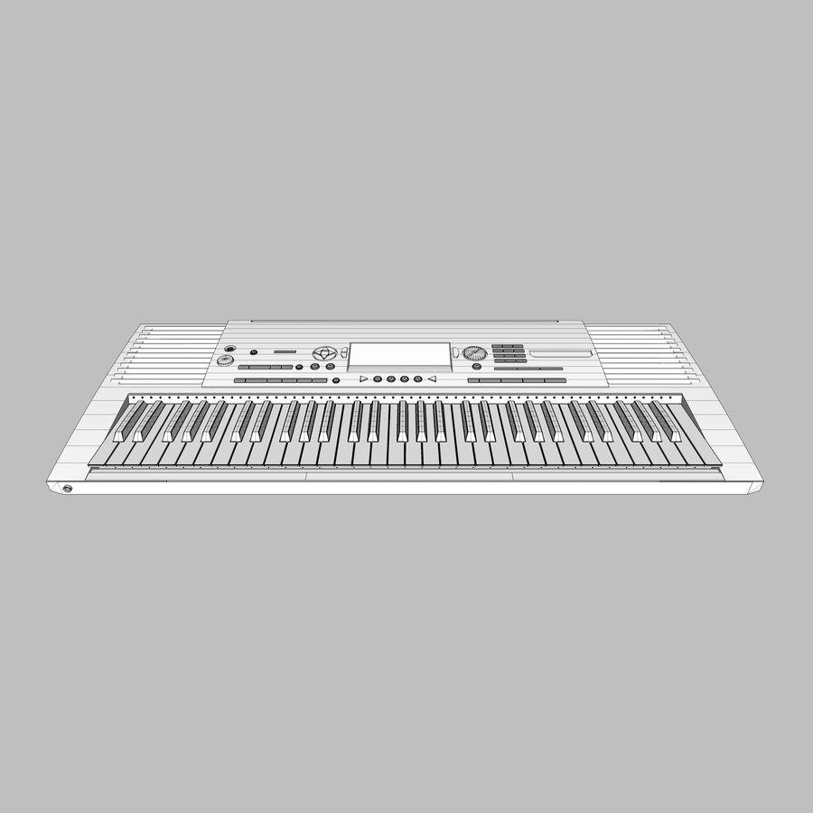 Клавиатура: Yamaha PSR 420: максимальный формат royalty-free 3d model - Preview no. 18