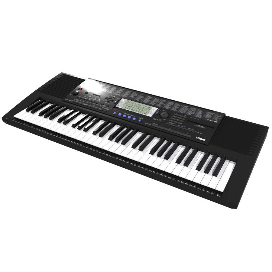 Клавиатура: Yamaha PSR 420: максимальный формат royalty-free 3d model - Preview no. 4