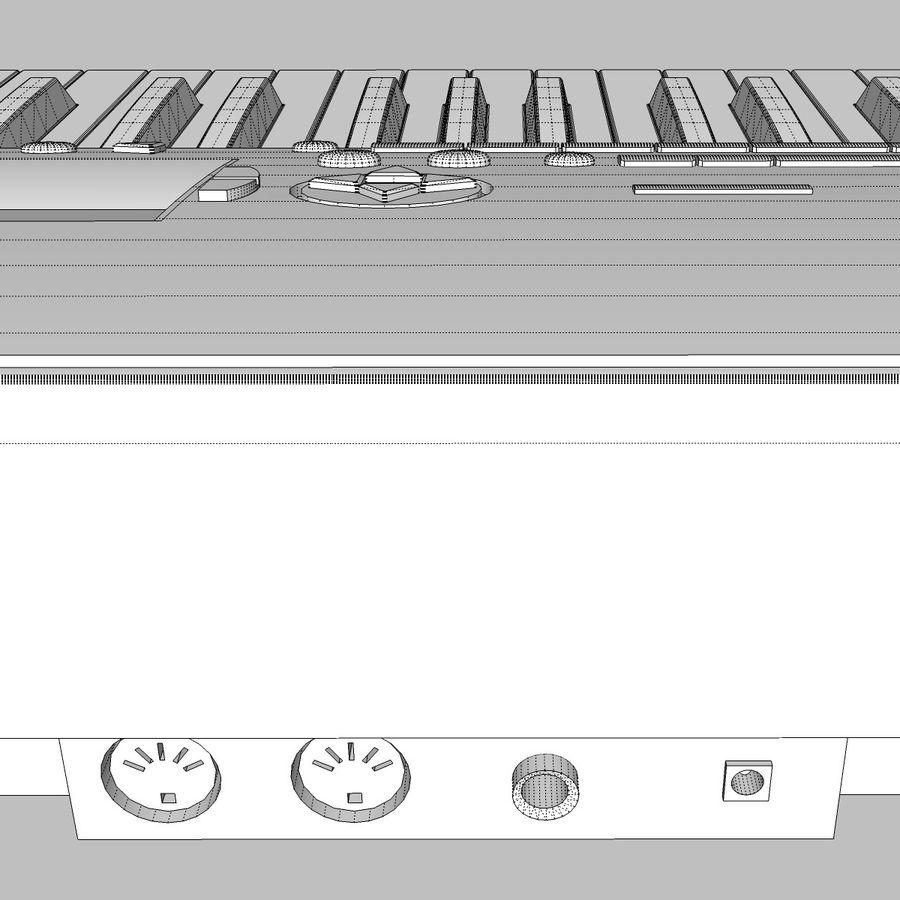 Клавиатура: Yamaha PSR 420: максимальный формат royalty-free 3d model - Preview no. 24