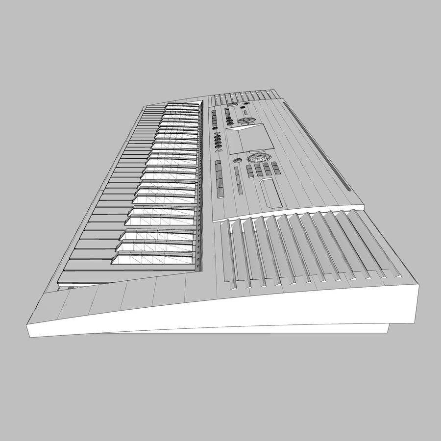 Клавиатура: Yamaha PSR 420: максимальный формат royalty-free 3d model - Preview no. 29