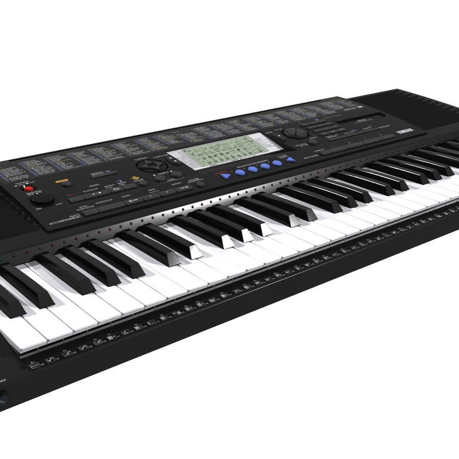 Клавиатура: Yamaha PSR 420: максимальный формат royalty-free 3d model - Preview no. 7