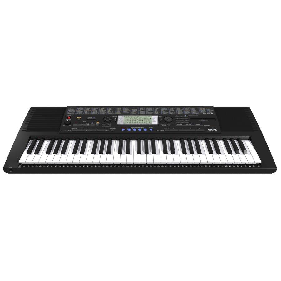 Клавиатура: Yamaha PSR 420: максимальный формат royalty-free 3d model - Preview no. 3