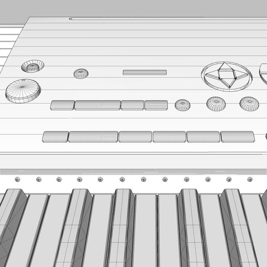 Клавиатура: Yamaha PSR 420: максимальный формат royalty-free 3d model - Preview no. 27