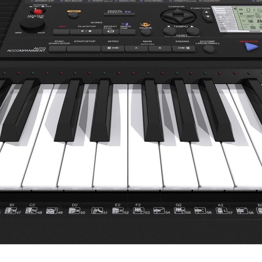 Клавиатура: Yamaha PSR 420: максимальный формат royalty-free 3d model - Preview no. 14