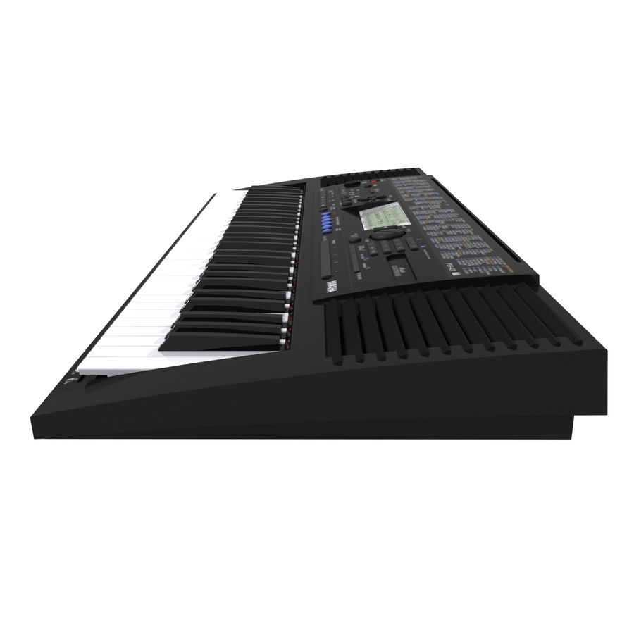 Клавиатура: Yamaha PSR 420: максимальный формат royalty-free 3d model - Preview no. 8
