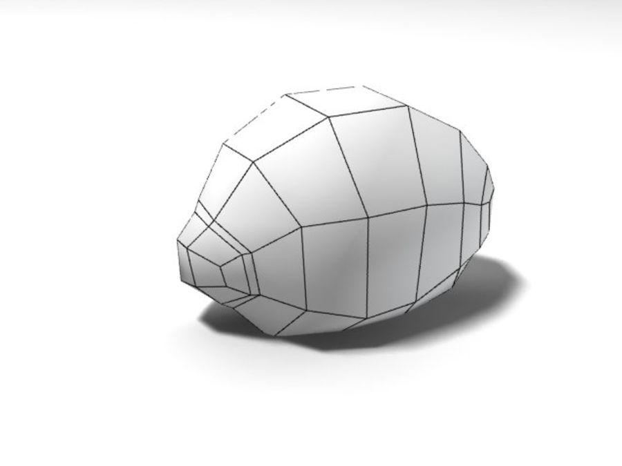citroen royalty-free 3d model - Preview no. 2