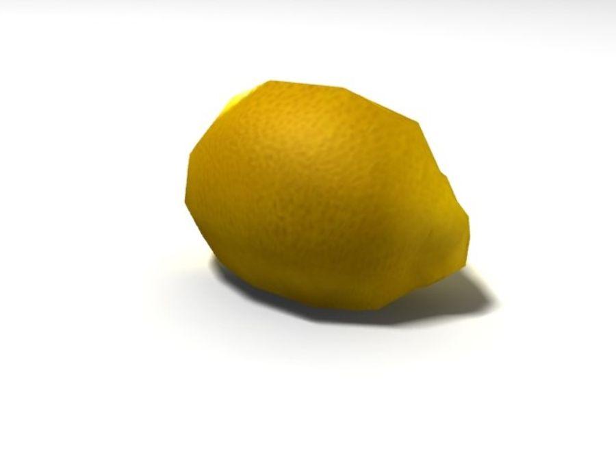 citroen royalty-free 3d model - Preview no. 7